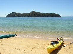 Kayaking im Abel Tasman Nation Park, Neuseeland