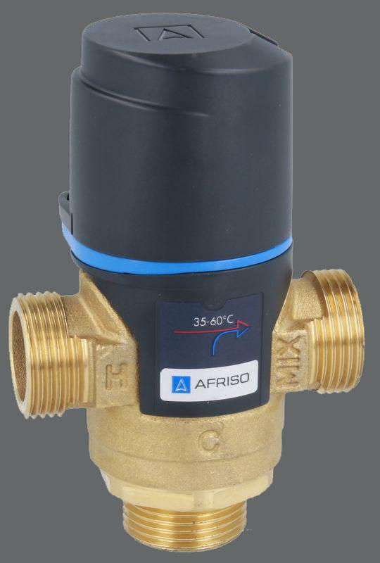 Трьохходовий клапан для гарячого водопостачання фото