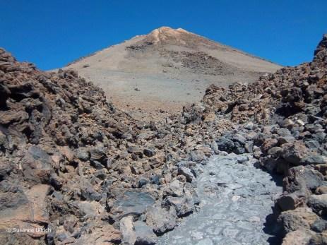 Blick auf den Gipfel des Teide