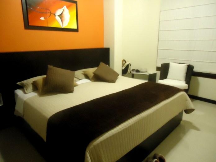 Mein großzügiges Bett im San Vincente