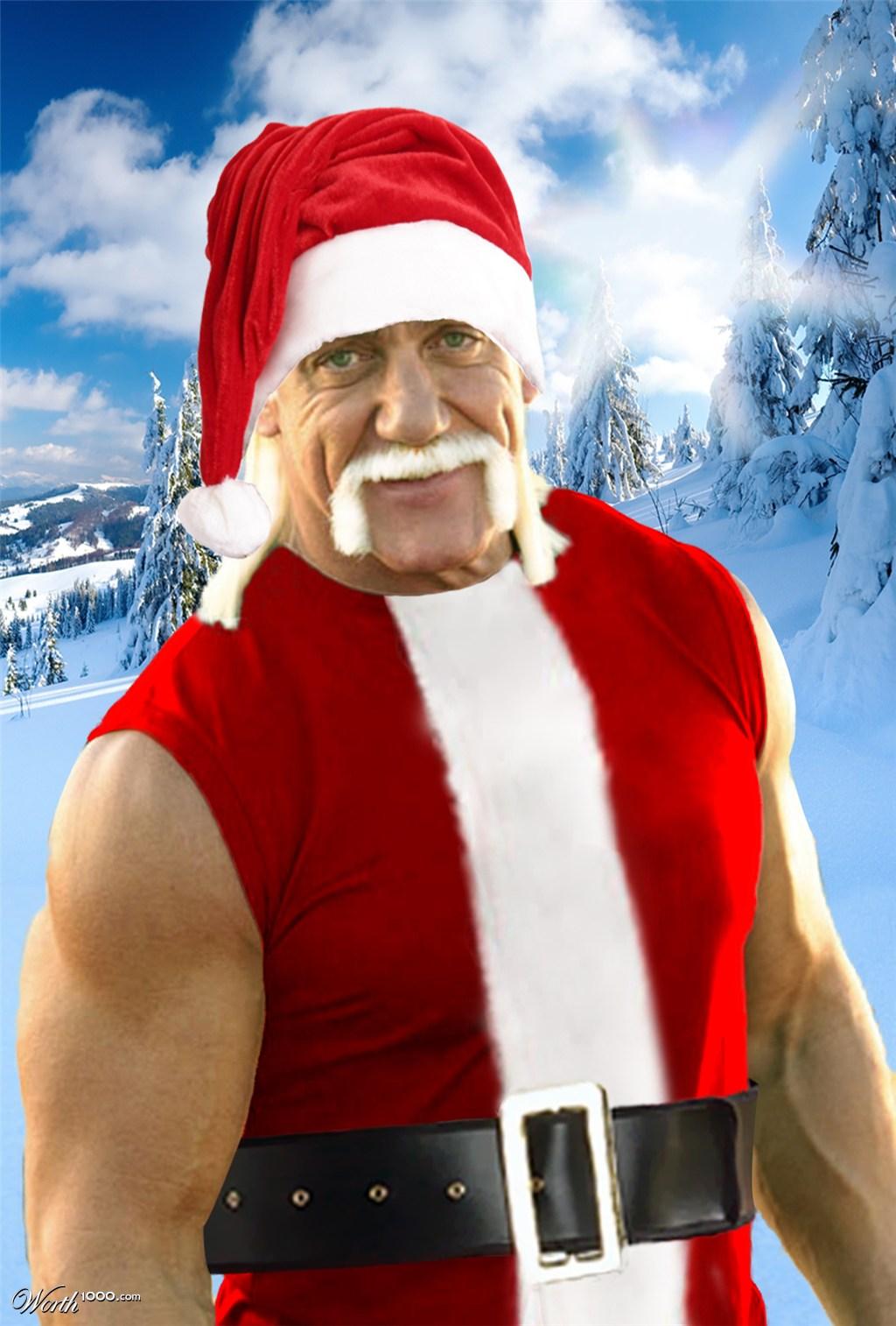 Hulk Hogan As Santa Claus