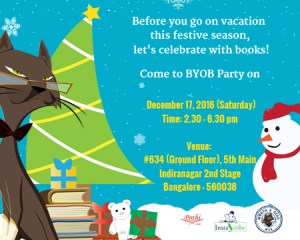 Bring Your Own Book (BYOB) Party on Dec 17, 2016 (Saturday)