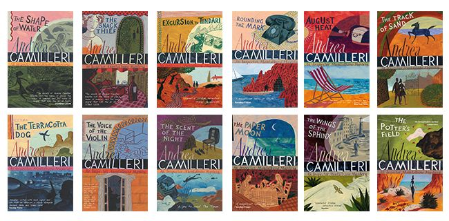 Inspector Montalbano series by Andrea Camileri