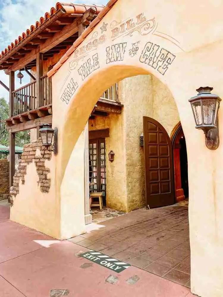 Tall Tale Inn & Cafe in Magic Kingdom
