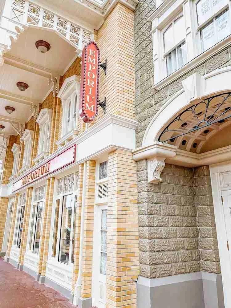 Emporium store in Magic Kingdom on Main Street