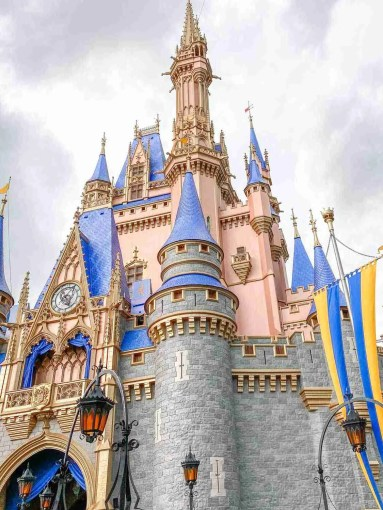 Cinderella's Castle attraction for a family vacation