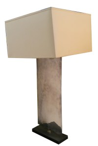 Porta Romana Nickel Plated Waterfall Table Lamp ...