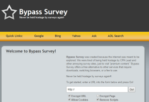 Bypass Survey Tool - Extension 1
