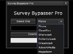 Bypass Survey Tool - Extension 5