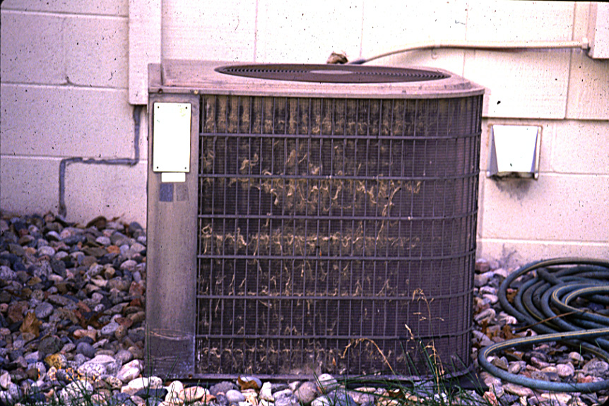 other HVAC problem is Dirty Condenser Coils
