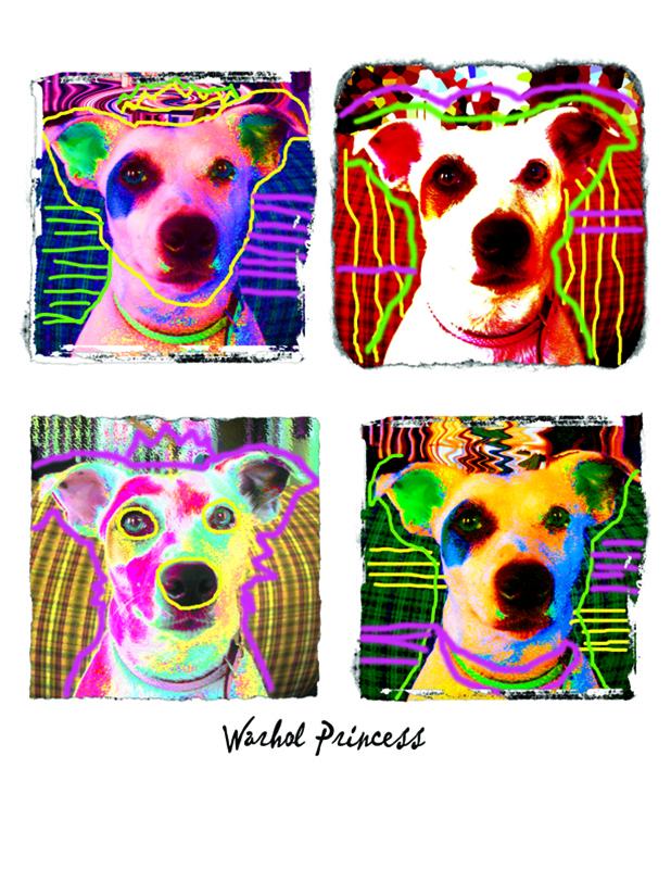 Warhol Your Pet – Pop Art