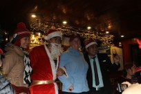 Santa came to visit back on the boat