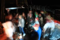 And then there was an impromptu rave - which looked this crazy