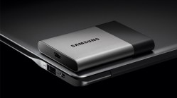 The fast and compact external storage Samsung Portable SSD T3