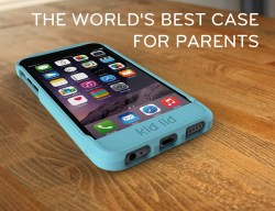 Dual Function iPhone® case with Kid Mode® Say Hello to The World's Best Case for Parents