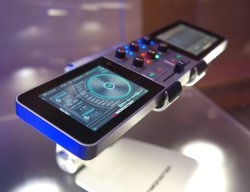 Monster GO DJ Portable Mixer Digital Turntable with LCD Touch Screen