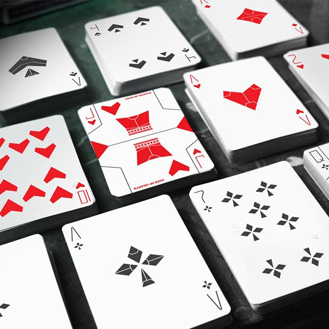 Stealth Playing Cards MK1 Series