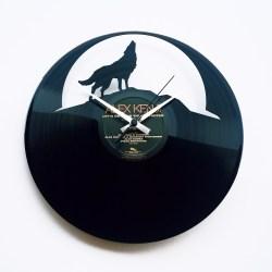 DISCOCLOCK黑胶唱片挂钟