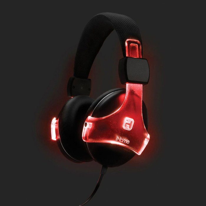 iB91 Bluetooth Color Changing Rechargeable Headphones