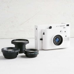 Lomo Instant White Edition Instant Camera by Lomography