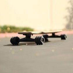 Ghost Ship Shark Wheel Mini Drop-Through Skateboard