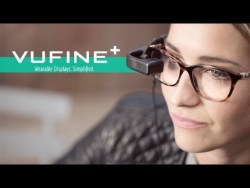 Vufine a high definition wearable display