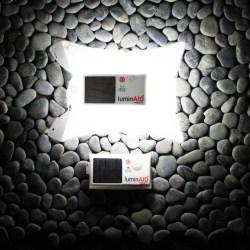 美国LuminAID充气式防水折叠太阳能LED灯