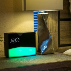 BEDDI Glow Intelligent Alarm Clock with Wakeup Light and Bluetooth Speaker