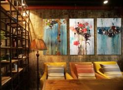 复古墙面立体铁艺装饰画