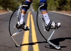 Air-Trekkers Extreme Model Carbon Fiber Spring Jumping Stilts