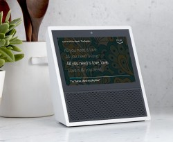 Amazon Echo Show With a Screen