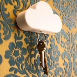 云朵磁力钥匙收纳器云朵钥匙扣