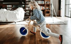 Brum Brum Wooden Balance Bike for Kids