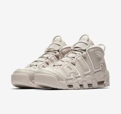 NIKE/耐克 AIR MORE UPTEMPO LIGHT BONE 男子篮球鞋