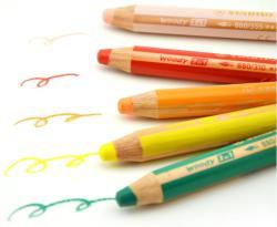 德国Stabilo/思笔乐880铅笔套装,儿童水溶性无毒画笔/蜡笔/彩铅