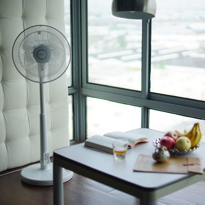 日本Morita森田 静音节能智能遥控落地电风扇