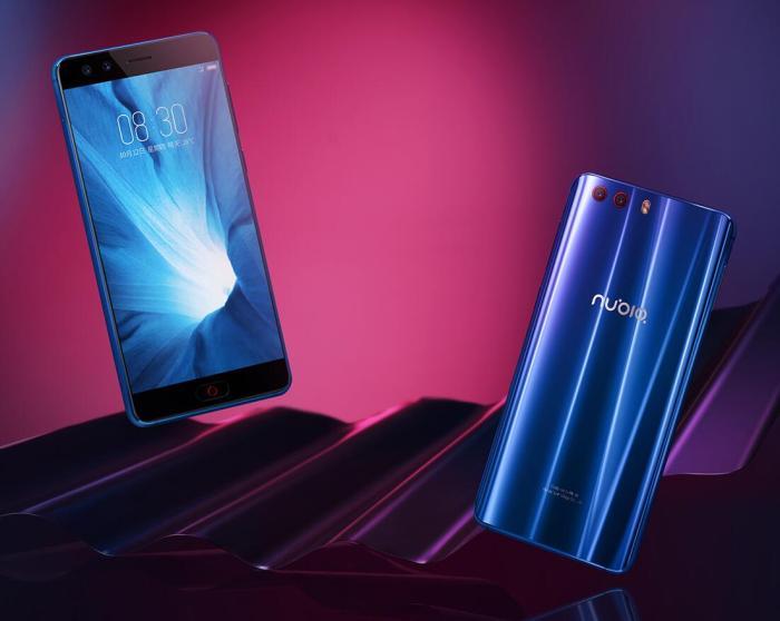 努比亚nubia Z17miniS 小牛8 深海蓝 6GB+64GB 无边框智能手机,骁龙653/前后双摄