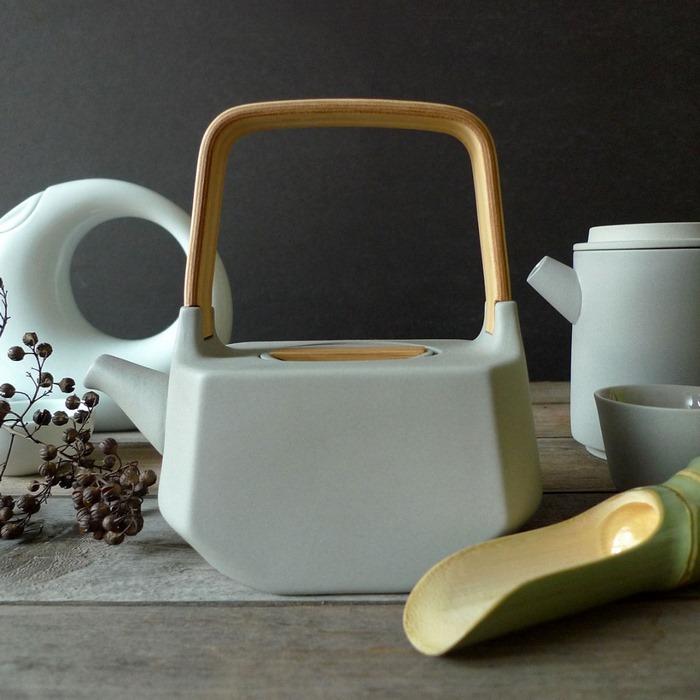 MO+OR Design 穆德设计 清水瓷茶具套装,一壶两杯喝出福气