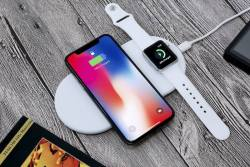 Funxim Wireless Apple Charging Mat Charging iPhone & Apple Watch At Once