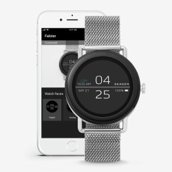 Falster Steel Mesh Android Wear Smartwatch By Skagen