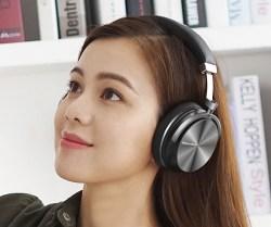 Bluedio蓝弦 T4S 头戴式蓝牙耳机,涡轮4代高阶版,VFT低音补偿技术+ANC主动降噪