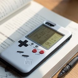 Gameboy Phone Case Retro Design Playable Tetris Case for iPhone