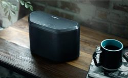 Yamaha WX-030BL MusicCast Wireless Speaker with Wi-Fi and Bluetooth
