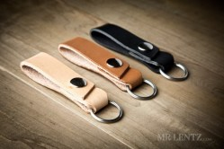 Belt Loop Keychain By Mr. Lentz Leather Goods