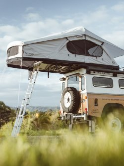 Crow's Nest Extended Rooftop Tent By Feldon Shelter