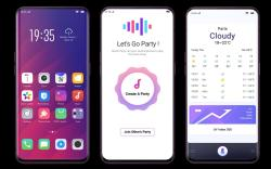 OPPO Find X Panoramic Design Arc Screen Smartphone