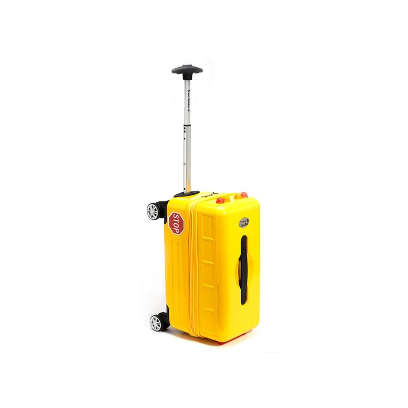 Travel Buddies 黄色校车儿童拉杆箱,18寸拉杆箱