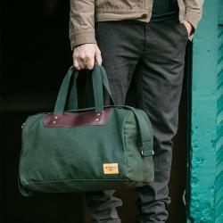 J.W. Hulme Canvas Weekender travel Bag