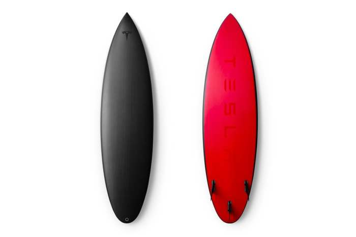 Tesla Limited Edition Surfboard