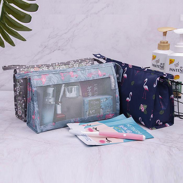 简约大容量多功能旅行随身洗漱品收纳包,便携化妆包